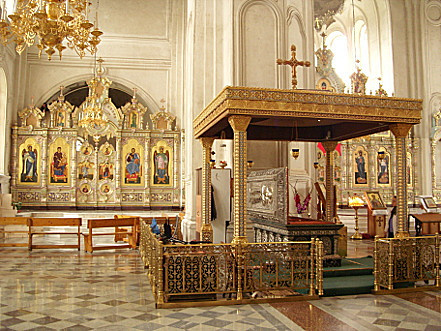 Cень над ракой Святого Симеона Верхотурского/Фото Wikimedia/Гаврилов С.А.