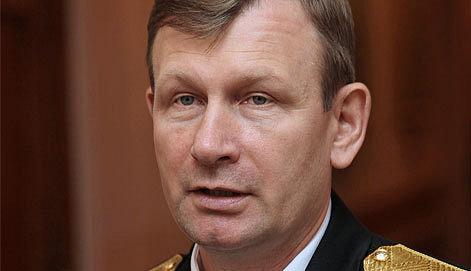 Главком ВМФ адмирал Виктор Чирков / Фото ИТАР-ТАСС /