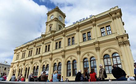 Ленинградский вокзал. Фото ИТАР-ТАСС/ Сергей Карпов