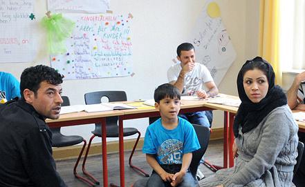 Языковой курс программы адаптации. Фото EPA/ИТАР-ТАСС