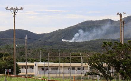 Место крушения. Фото EPA/ИТАР-ТАСС