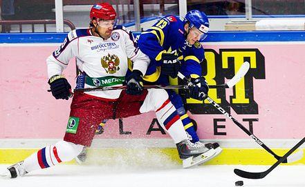 Том Ванделль в свитере сборной Швеции. Фото EPA/ИТАР-ТАСС