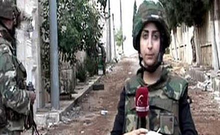 """Стоп-кадр телеканала """"Аль-Ихбария""""/САНА"""