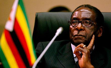 На фото президент Зимбабве Роберт Мугабе. Фото EPA/ИТАР-ТАСС