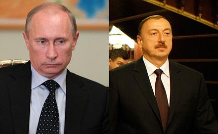 Владимир Путин, Ильхам Алиев. Фото ИТАР-ТАСС