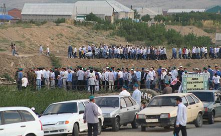 Похороны Саида Афанди. Фото ИТАР-ТАСС/ Сергей Расулов/ NewsTeam