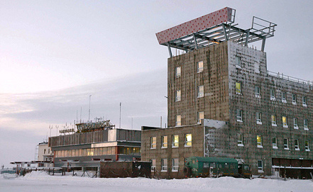 Аэропорт Норильска. Фото ИТАР-ТАСС