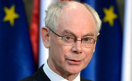 Херман Ван Ромпей, фото EPA/ИТАР-ТАСС