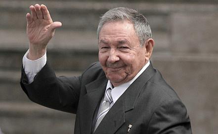 Рауль Кастро, фото ЕPA/ИТАР-ТАСС