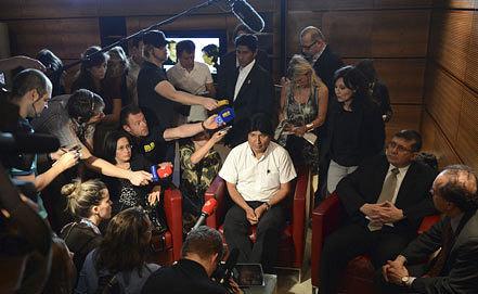 Эво Моралес. Фото ЕРА/ИТАР-ТАСС