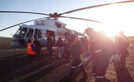 Фото ИТАР-ТАСС/Пресс-служба ГУ МЧС по Якутии
