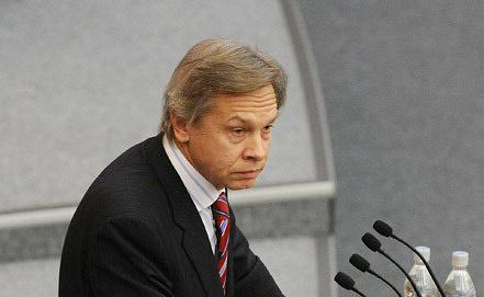 Глава комитета Госдумы по международным делам Алексей Пушков Фото ИТАР-ТАСС