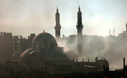 Мечеть Халеда ибн аль-Валида в Хомсе. Фото из архива EPA/ИТАР-ТАСС