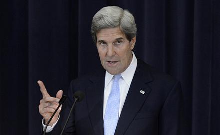 Джон Керри. Фото EPA/ИТАР-ТАСС