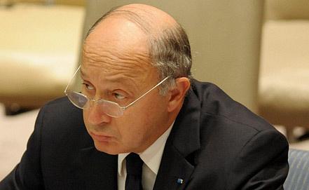 Министр иностранных дел Франции Лоран Фабиус. Фото ЕРА/ИТАР-ТАСС