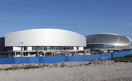 Строительство Олимпийского парка. Фото ИТАР-ТАСС