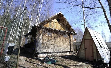 Постройка, где удерживали сына Касперского. Фото ИТАР-ТАСС