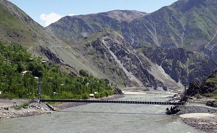 Река Пяндж. Фото ИТАР-ТАСС