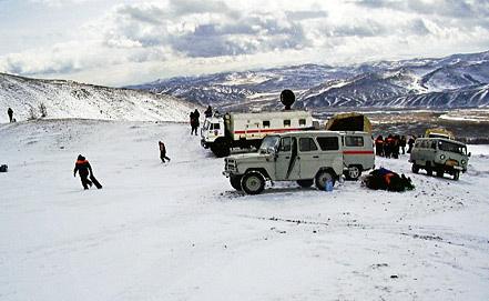 Фото ИТАР-ТАСС/ Пресс-служба ГУ МЧС России по республике Тыва