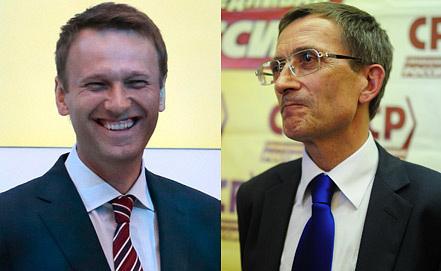 А. Навальный (слева), Н. Левичев. Фото ИТАР-ТАСС/Михаил Метцель/Зураб Джавахадзе