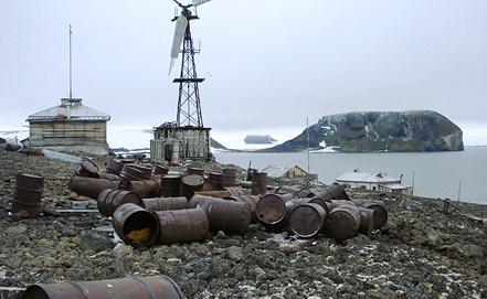 Вид на один из островов архипелага Земля Франца-Иосифа. Фото ИТАР-ТАСС/ пресс-служба Геологического института