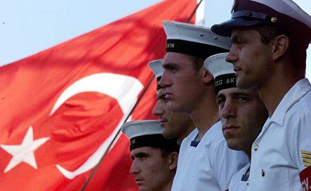 Турецкие моряки. Фото ЕРА/ИТАР-ТАСС