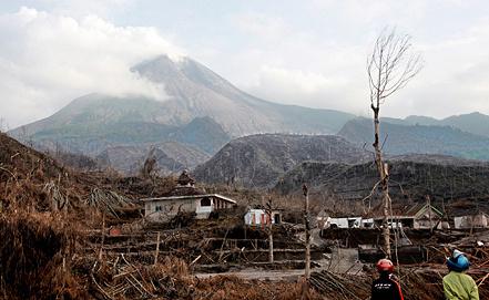Вулкан Мерапи. Фото ЕРА/ИТАР-ТАСС
