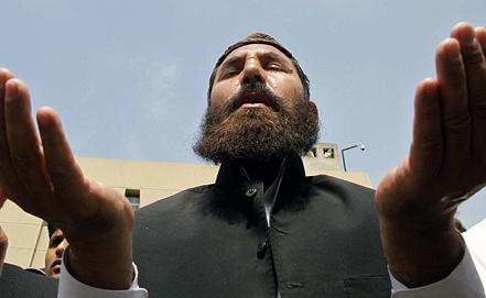 Символические похороны Усамы бен Ладена. Фото EPA/ИТАР-ТАСС