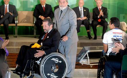 Нилтон де Сорди (слева). Фото ЕРА / ИТАР-ТАСС