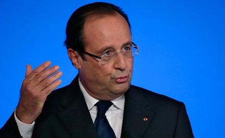 Франсуа Олланд, фото из архива EPA/ИТАР-ТАСС
