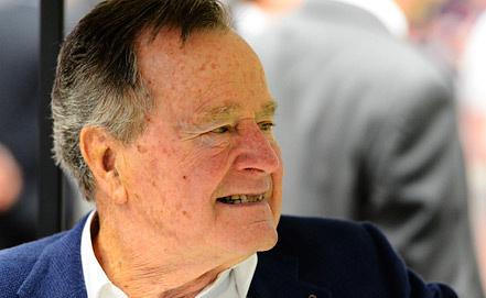 Джордж Буш-старший, фото EPA/ИТАР-ТАСС