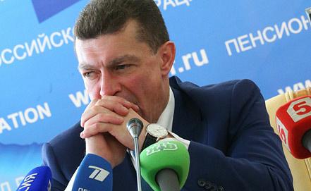 Министр труда и социальной защиты РФ Максим Топилин. Фото ИТАР-ТАСС/ Валерий Шарифулин