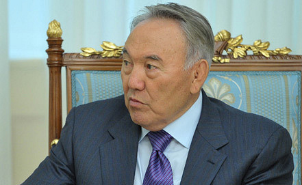 Нурсултан Назарбаев, фото ИТАР-ТАСС/ Алексей Никольский