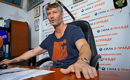 Евгений Ройзман. Фото ИТАР-ТАСС/ Антон Буценко