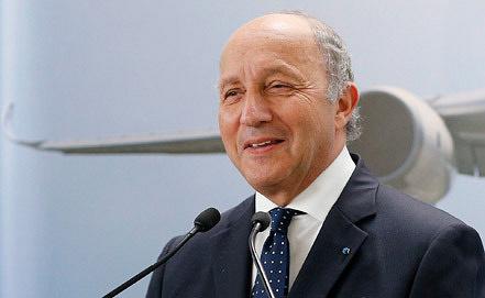 Глава МИД Франции Лоран Фабиус. Фото ИТАР-ТАСС/ ЕРА/ YOAN VALAT