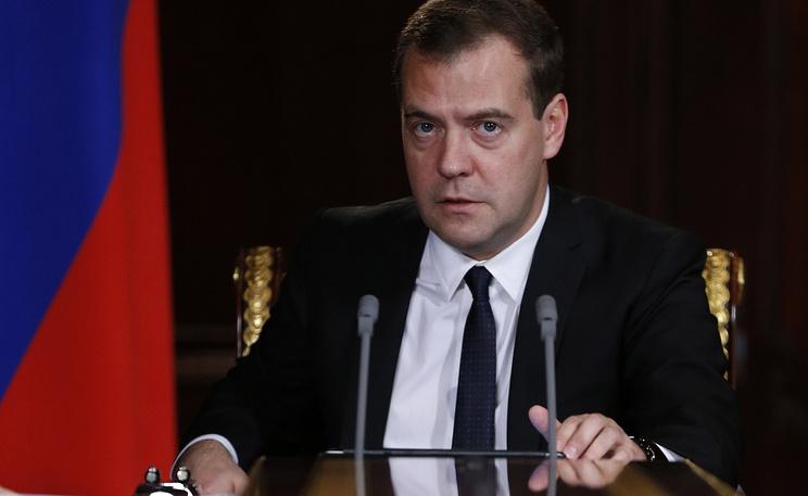 Премьер-министр РФ Дмитрий Медведев. Фото ИТАР-ТАСС/ Дмитрий Астахов