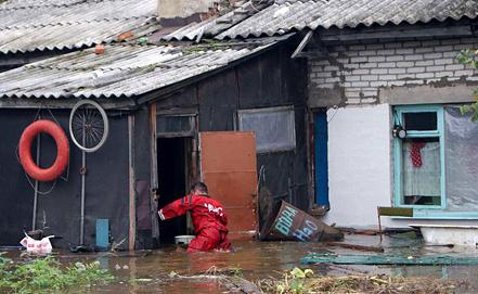 Фото ИТАР-ТАСС/ ГУ МЧС России по Хабаровскому краю