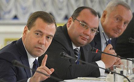 Дмитрий Медведев на встрече с участниками Генеральной ассамблеи ОАНА. Фото ИТАР-ТАСС/ Александр Астафьев