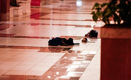 Последствия нападения террористов в торговом центре Найроби. Фото EPA/KABIR DHANJI