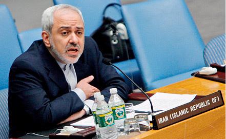 Министр иностранных дел Ирана, фото EPA/PETER FOLEY