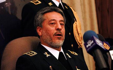 Командующий ВМС Исламской Республики контр-адмирал Хабиболла Сайяри. Фото из архива EPA/YOUSSEF BADAWI
