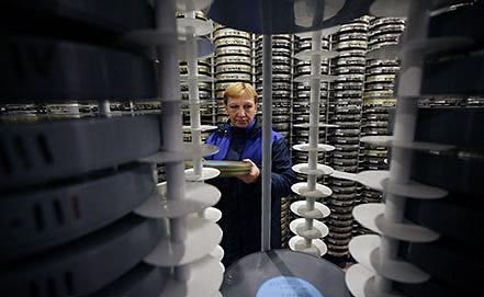 Отдел хранения Госфильмофонда в Белых столбах. Фото ИТАР-ТАСС/ Артем Геодакян