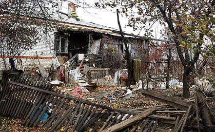 Последствия наводнения в селе Владимировка Благовещенского района. Фото ИТАР-ТАСС/ Иван Белозеров