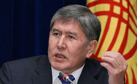 Алмазбек Атамбаев. Фото EPA/Igor KOVALENKO