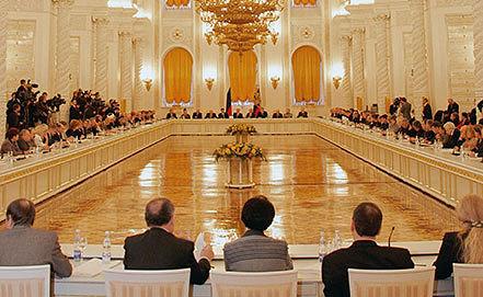 Заседание Общественной палаты РФ. Фото ИТАР-ТАСС/ Алексей Панов