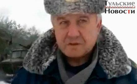 """Валерий Шемякин. Стоп-кадр программы """"Тульские новости"""""""