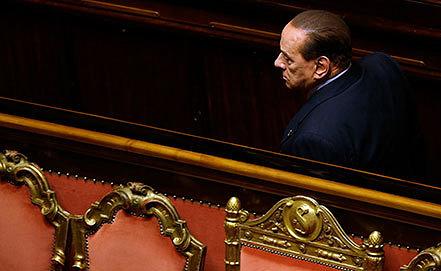 Сильвио Берлускони. Фото AP Photo/Gregorio Borgia