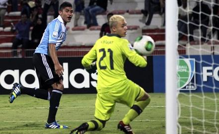 Матч Аргентина - Австрия. Фото EPA/ALI HAIDER
