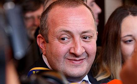 Георгий Маргвелашвили. Фото EPA/ZURAB KURTSIKIDZE