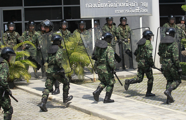 In the last 82 years Thailand has suffered 18 state coups carried out mainly by the army